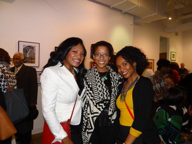 Angelica, Corinne and myself