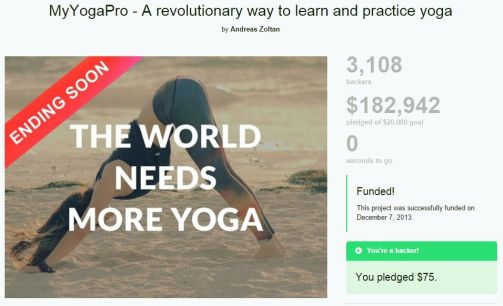 myyogapro kickstarter