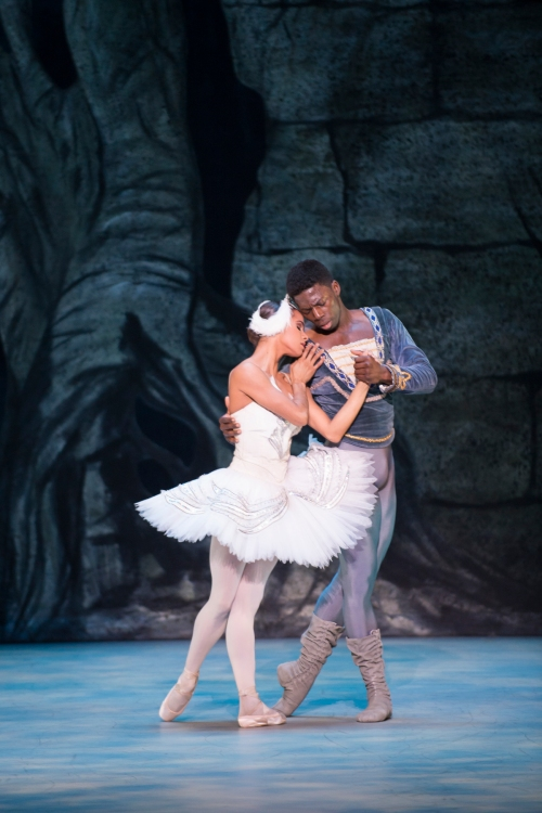 The Washington Ballet Swan Lake Misty Copeland & Brooklyn Mack photo by media4artists l Theo Kossenas
