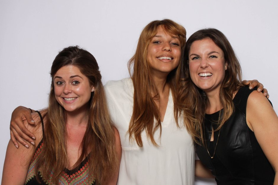 From Right to Left: Founder and President Rebecca Yarbrough, Director of Marketing Jonna Humphries & Maketing Associate Chelsea Raab (Picture by Lauren Scott)