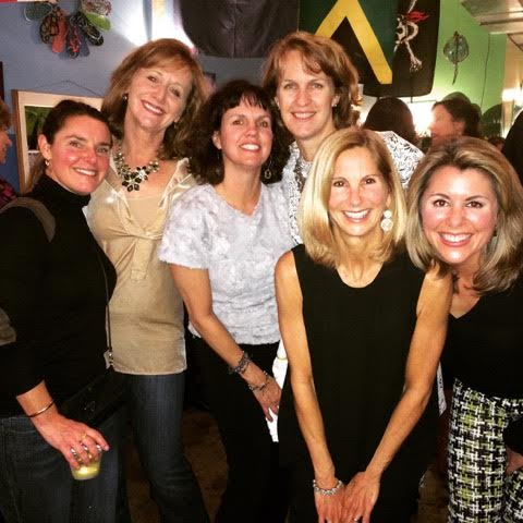 With fellow exercisers at BbG_s annual holiday party